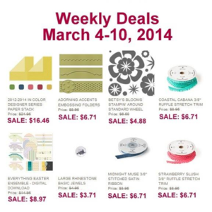 WeeklyDeal Week of March4