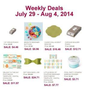 7-29 weekly deals