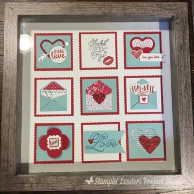 Sealed with Love Frame Collage