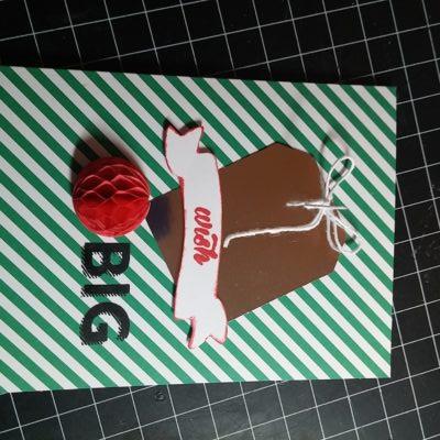 Birthday Bright Project Kit Alternative Card Idea