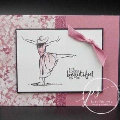 Beautiful You – Sneak Peek – Sale-A-Bration Glimmer Paper