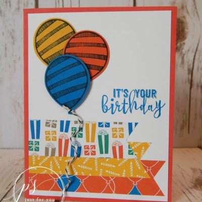 Balloon Adventures Bundle by Stampin' Up!