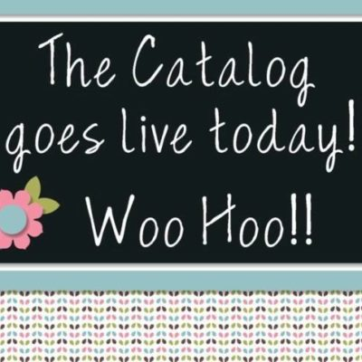 TODAY is the first day to order from the new 2017-2018 Stampin' Up! Catalog