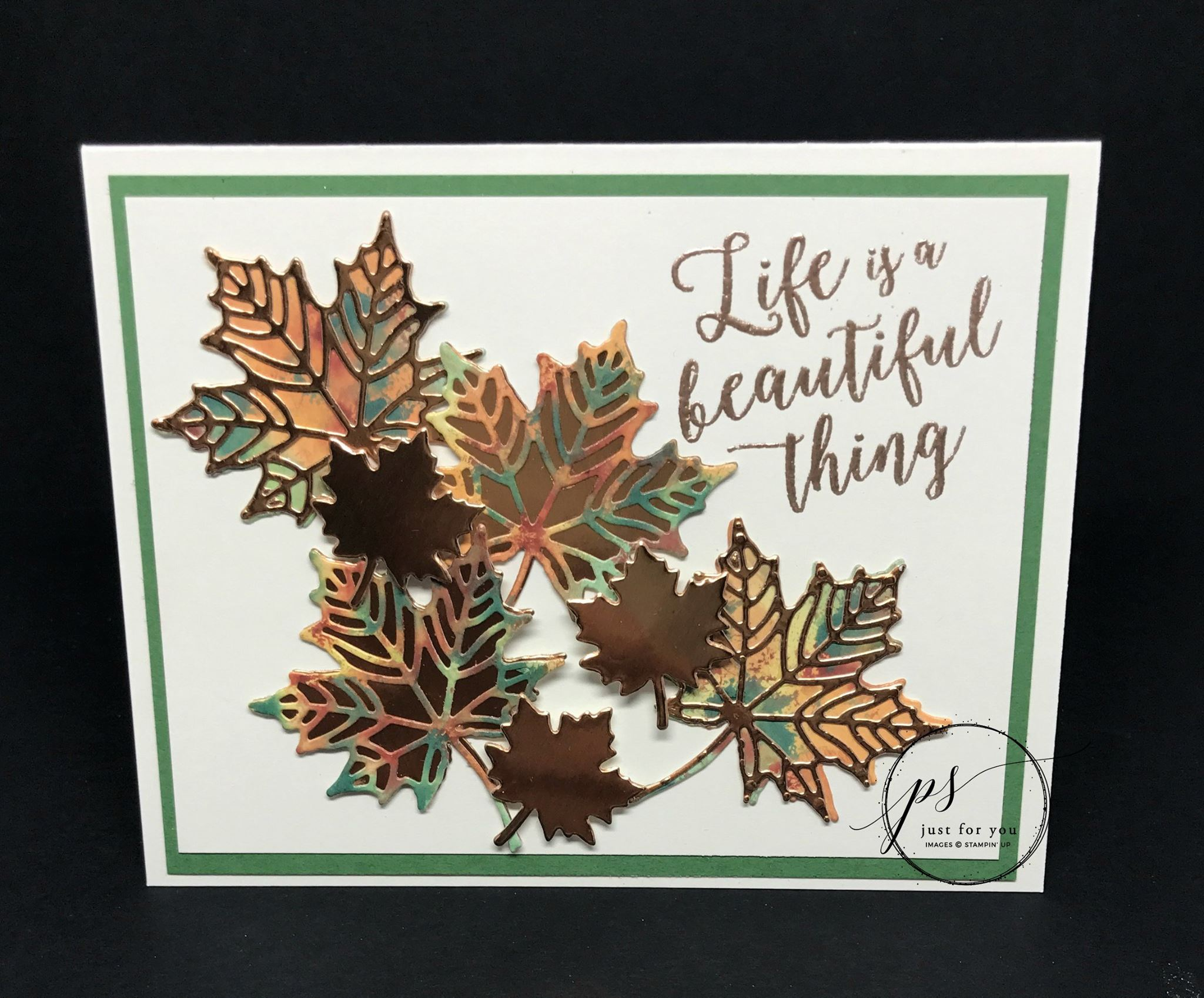 Two Stampin' Up! Embossing Videos You Will Love!