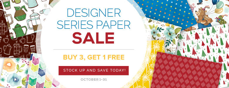 Two New Stampin' Up! Fall Promotions