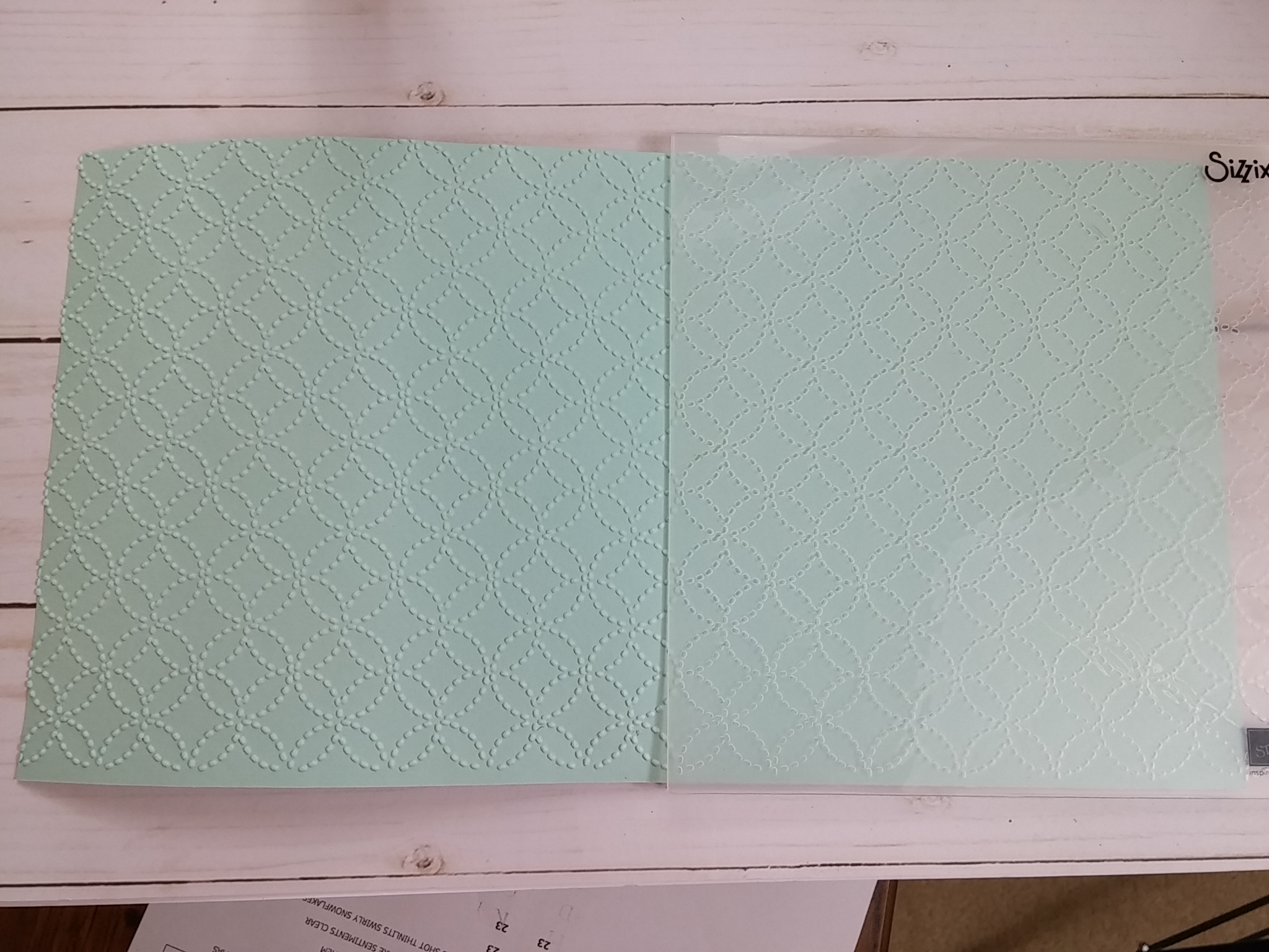 Is There Something Wrong With My Quilt Top Embossing Folder?