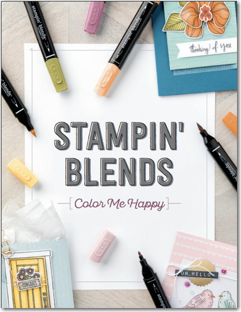 Get the NEW Stampin' Blends Alcohol Markers NOW!