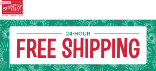 FREE SHIPPING on all Stampin' Up! Products