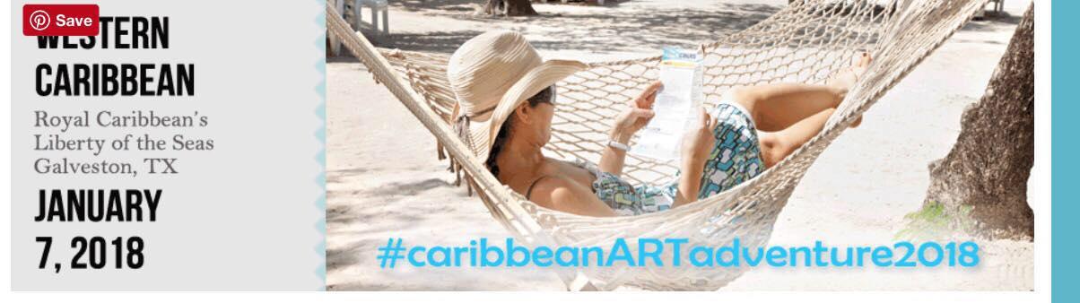 #CaribbeanARTadventure Starts NOW!