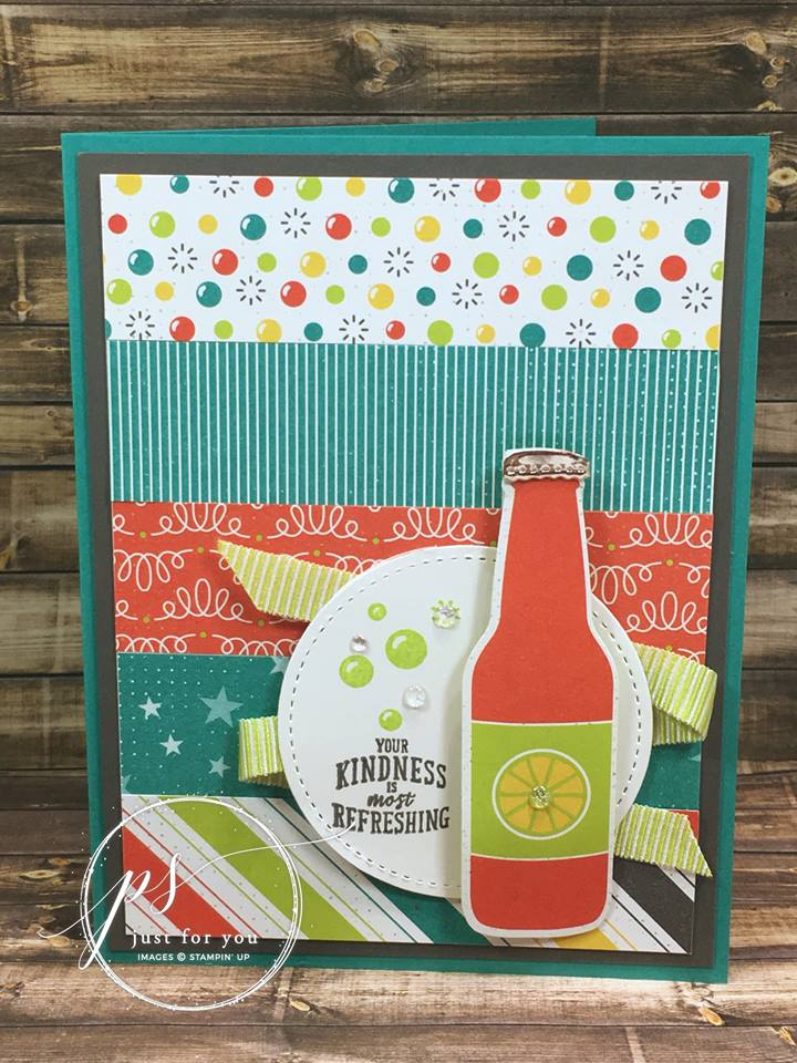 Sale-A-Bration Bubbles & Fizz Designer Series Paper
