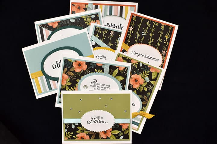 Cardmaking Made Simple with Designer Series Paper