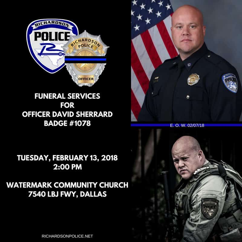 A Moment Of Reflection As A Brave Officer Is Laid To Rest