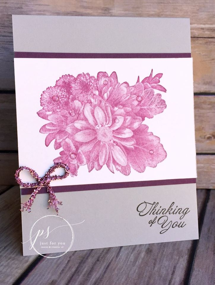 Heartfelt Blooms Distinktive Stamp Set