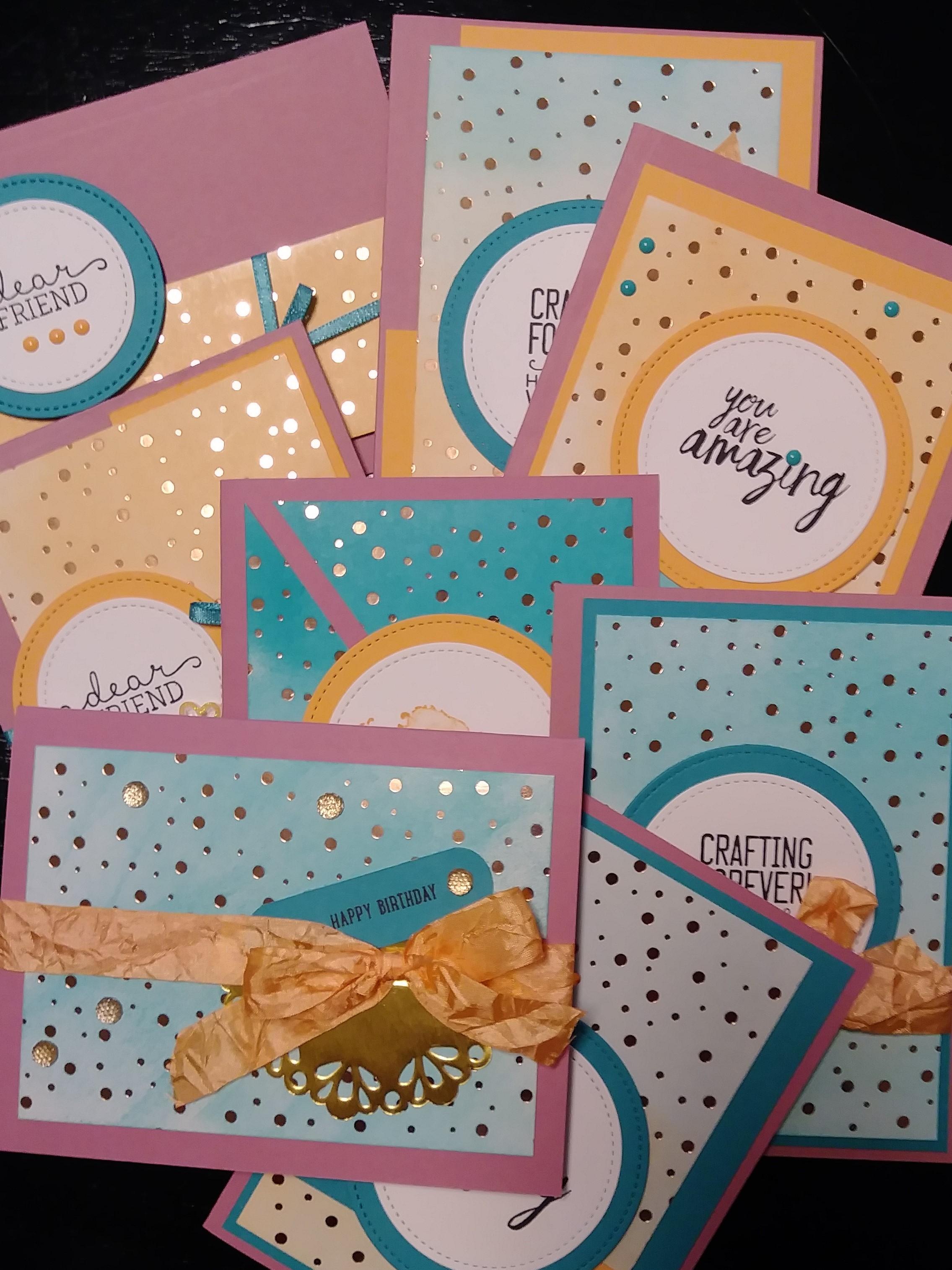 Springtime Foils Specialty Designer Series Paper