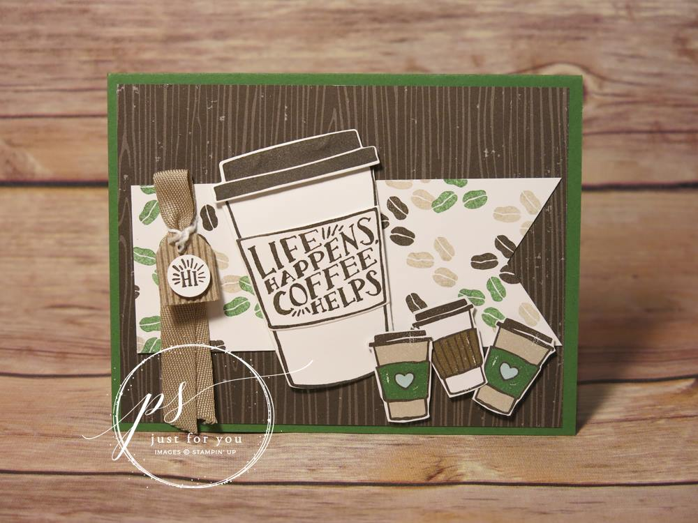 Life Happens Coffee Helps - Coffee Café Card