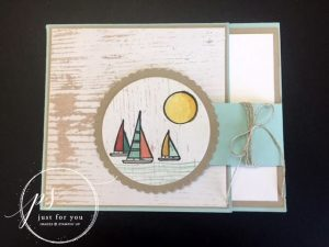 Lilypad Lake Card PDF Tutorial