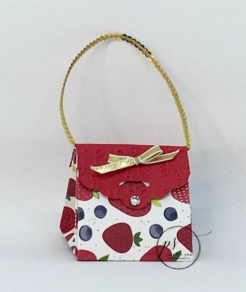 Tutti Frutti Purse is Perfect for Graduation Gifts