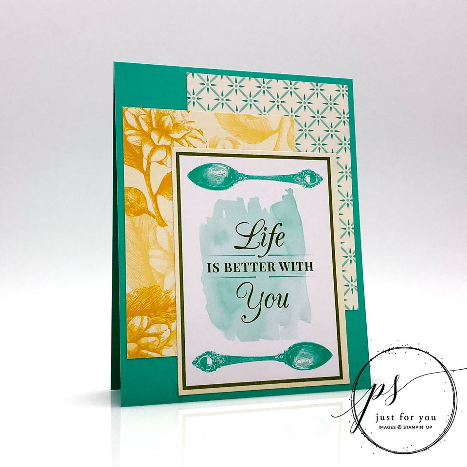 Make This Card in TEN Minutes or Less...REALLY!