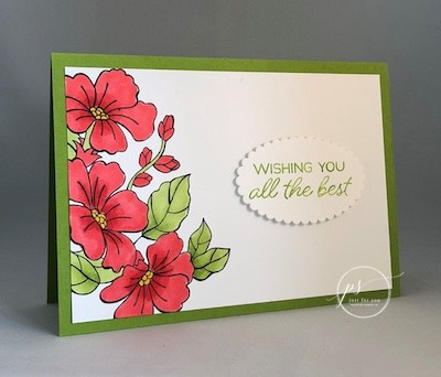 Two NEW Project Sheets Using Stampin' Up! Blended Seasons Limited Edition Products
