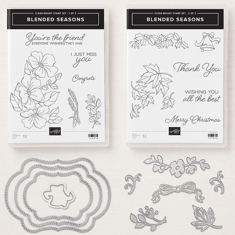 Why Should I Buy Stampin' Up!'s Blended Seasons Stamp Set?