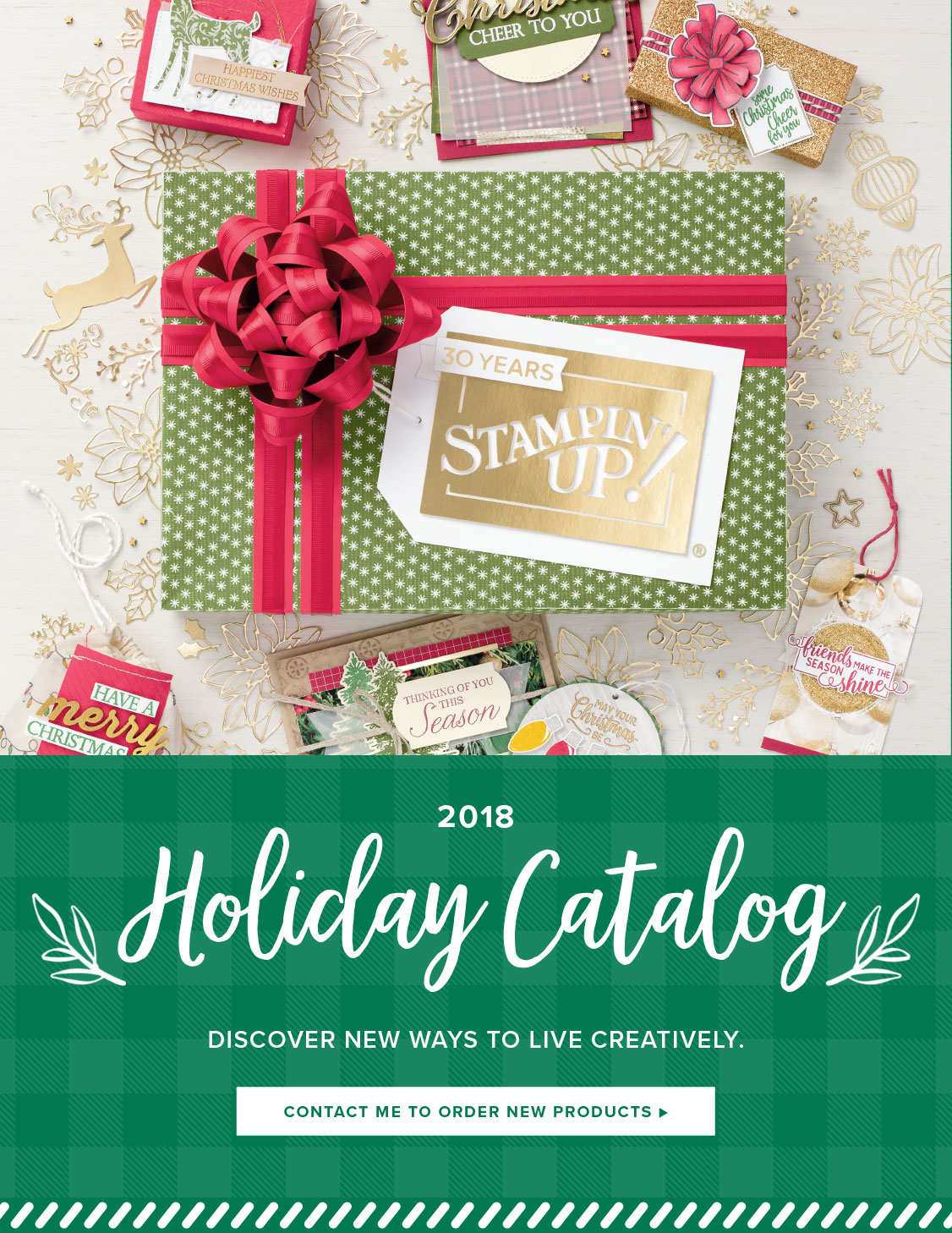 New Holiday Catalog - Don't Wait Until September 5 to Order!