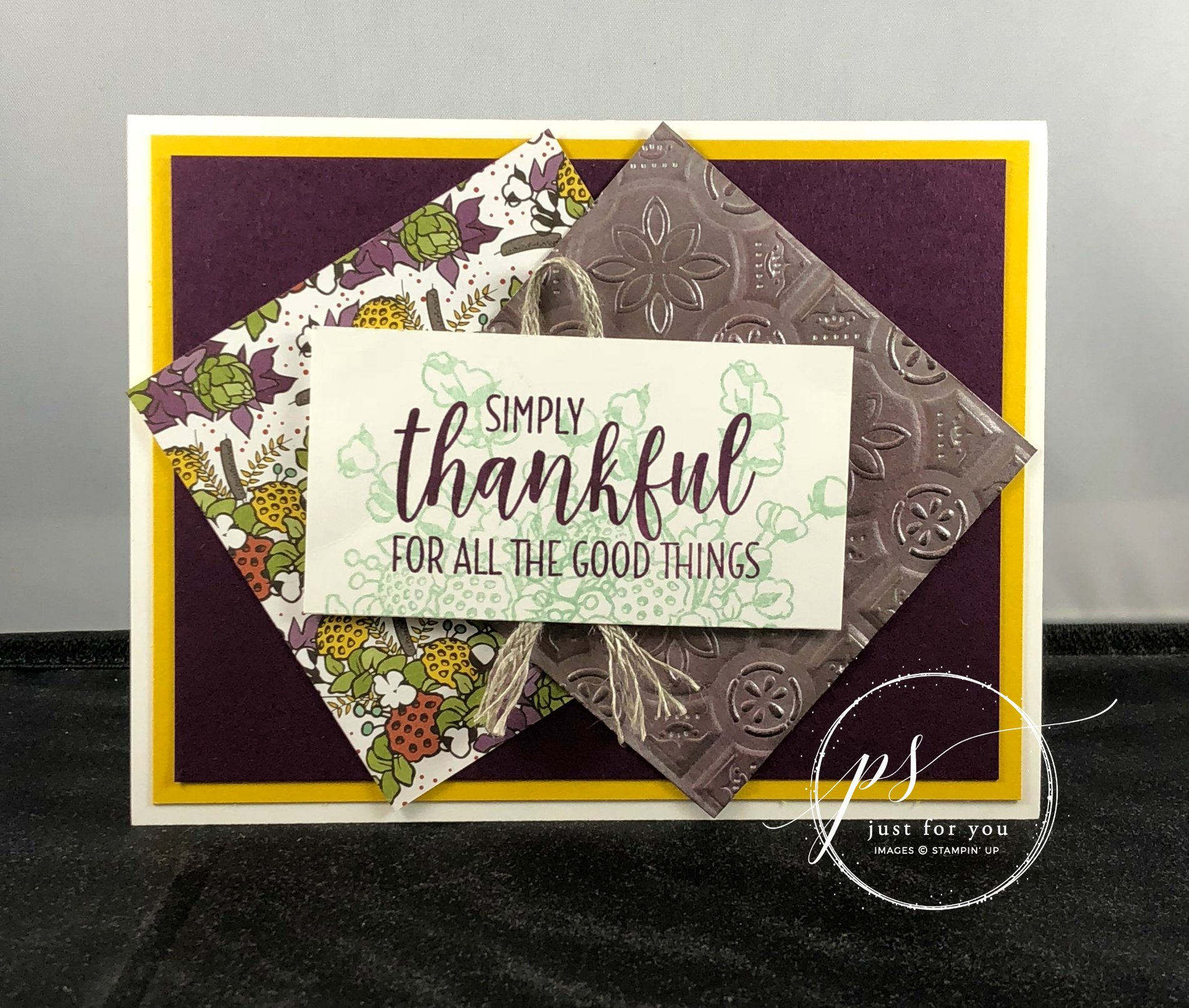 A Few Stampin' Up! Reminders and NEW Samples!