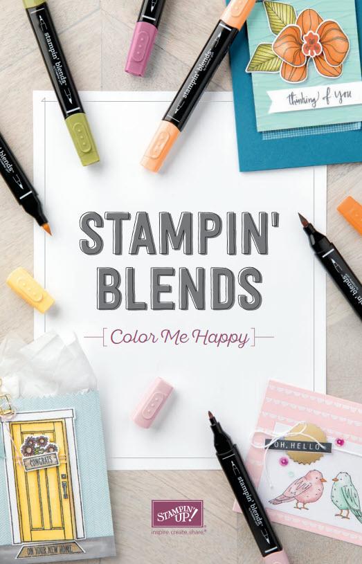 2018 Stampin Blends Catalog