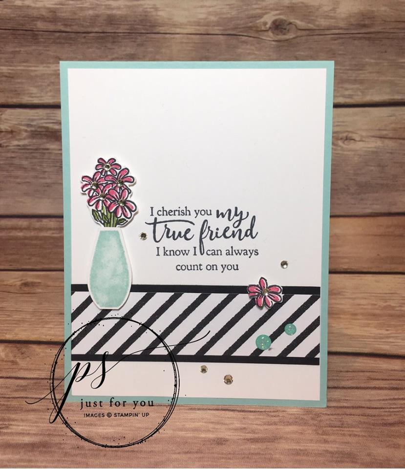 How Do I Use Stampin' Up! Designer Series Paper?