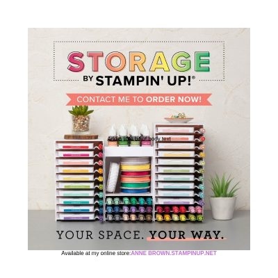 New Storage Solutions from Stampin' Up! Are Here!