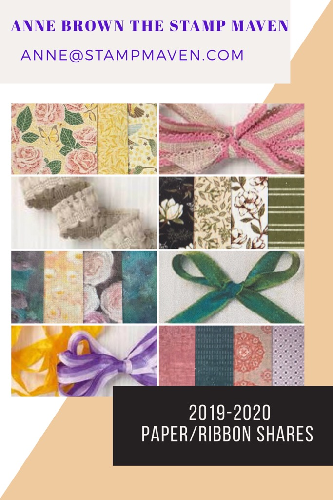 2019-202 Stampin' Up! Paper/Ribbon Shares are Here!