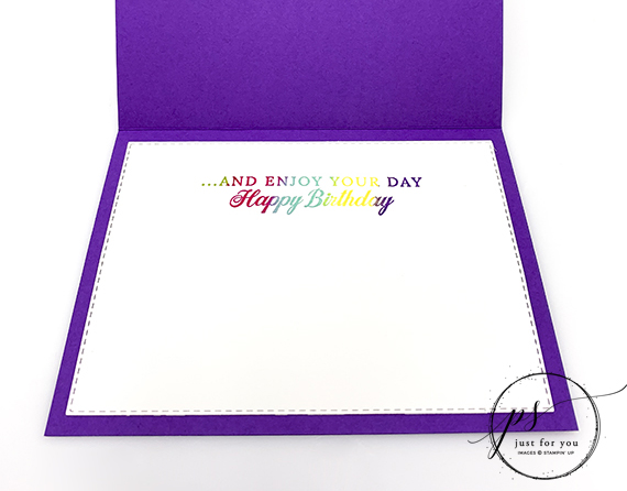 Life is Grand Birthday Card - SU Retiring Stamp Set