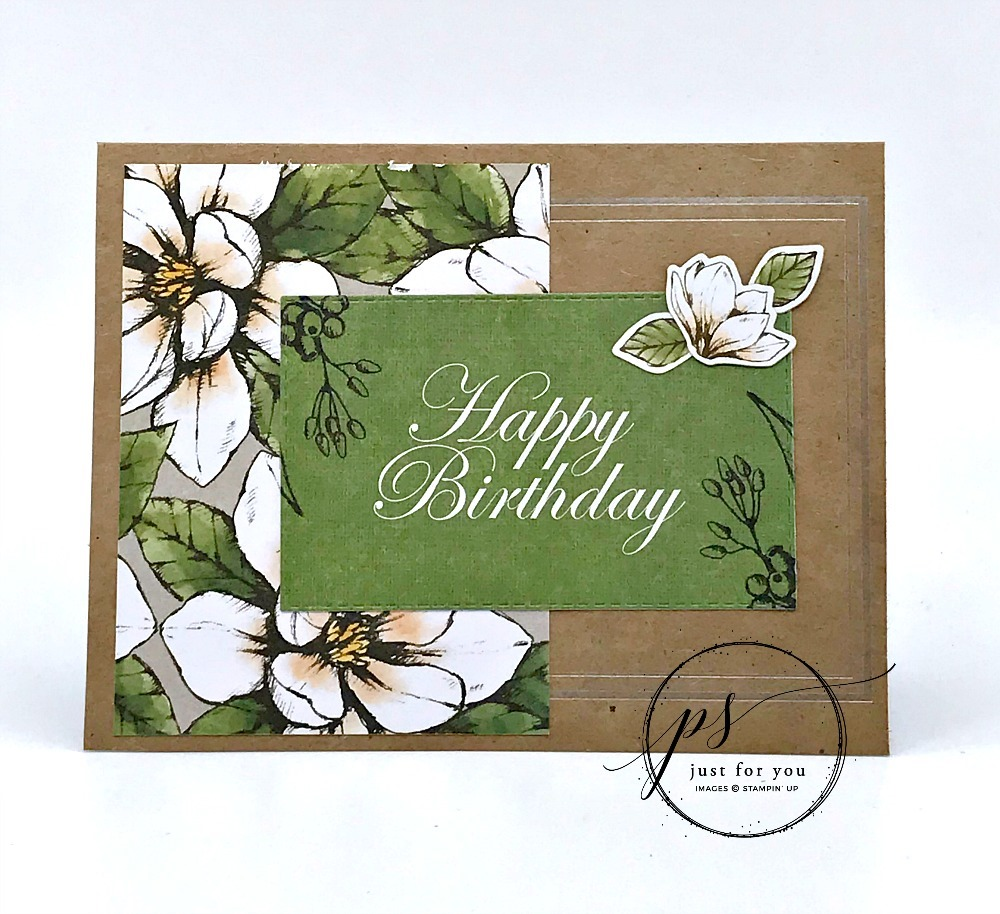 No Time To Stamp? Want a Beautiful Card?