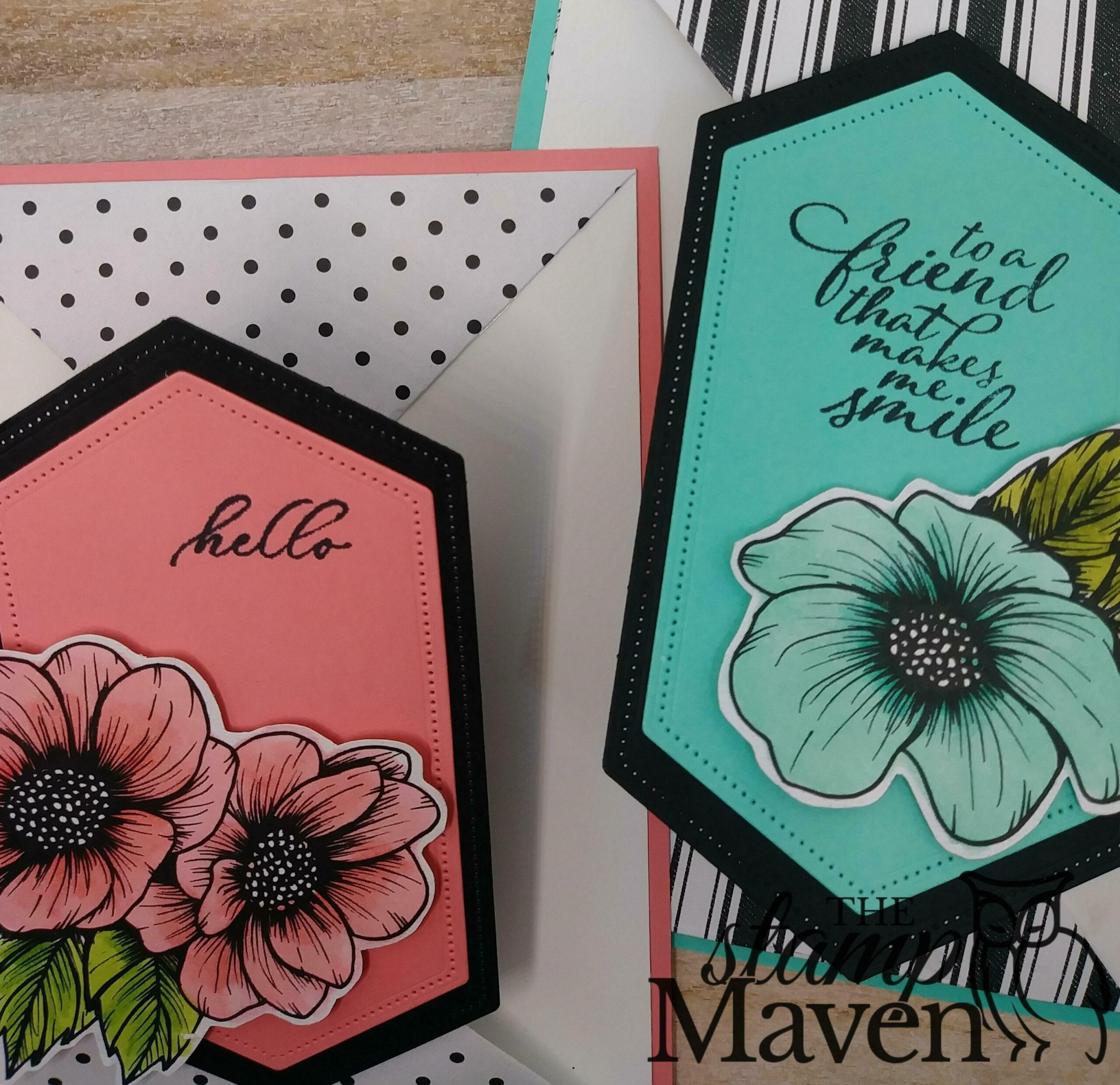 color with Stampin' Blends