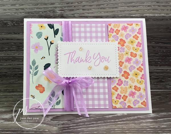 pansy petals stamp set
