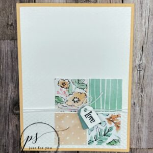 anniversary card using hand-penned suite by stampin up