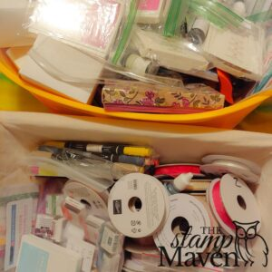 stampin up retired product mystery box