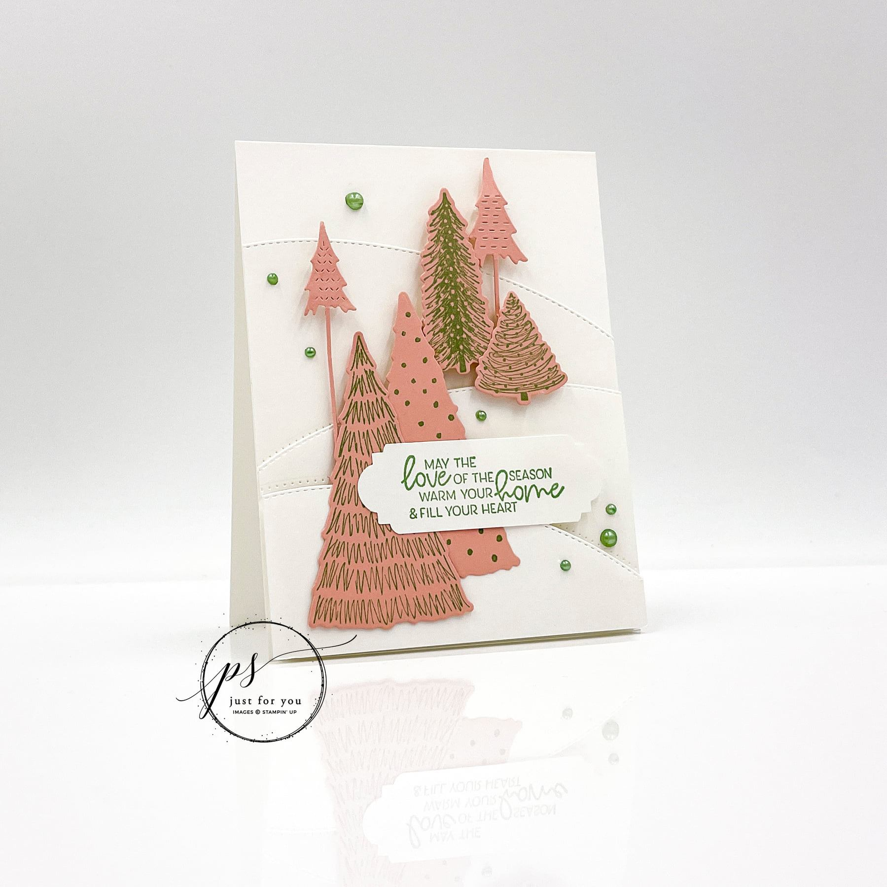 whimsical trees bundle by stampin up